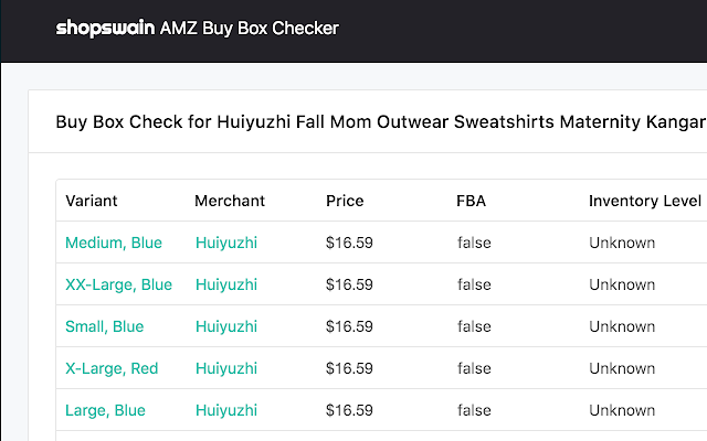 AMZ Buy Box Checker by Shopswain