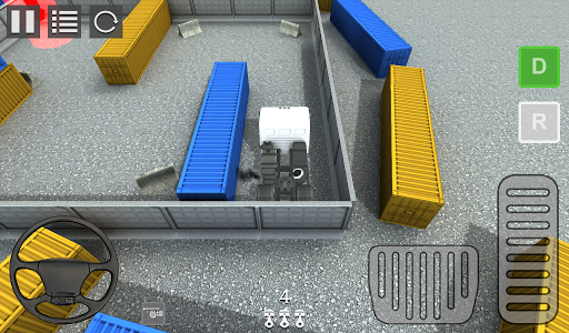 Container Truck 3D
