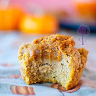 Rustic Pumpkin Pie Filled Pumpkin Muffins