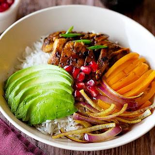 Chicken and Veggie Rice Bowl