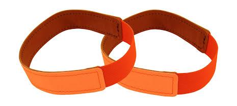 Reflexhalsband i läder