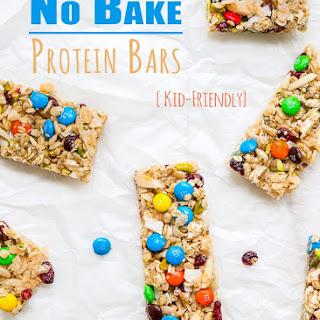 No Bake Protein Bars {kid-friendly}