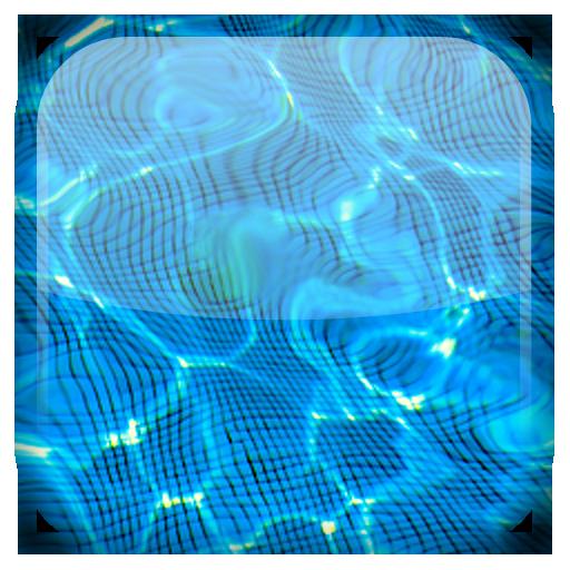 Gota de agua fondo animado