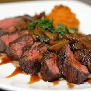 Cube Steaks with Mushrooms Recipe