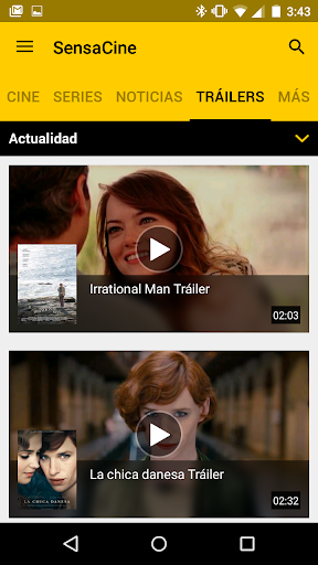 SensaCine - Movies and  Series 6.3.3 screenshots 6