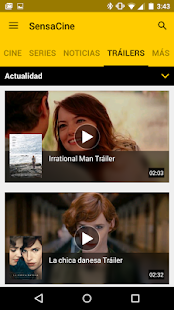 App SensaCine - Movies and Series APK for Windows Phone