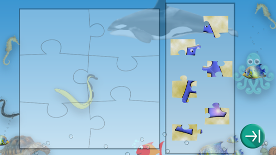 Kids Alphabet Jigsaw- screenshot thumbnail