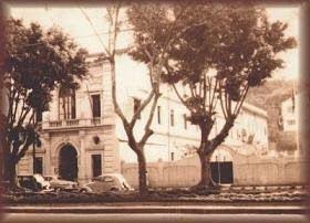 Photo: Colégio Werneck, no centro da cidade. Hoje, em seu lugar, existe o Shopping Pedro II. Foto da década de 50