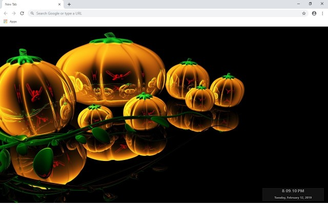 halloween New Tab & Wallpapers Collection