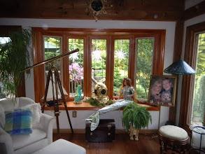Photo: Bow window with prairie style internal grids