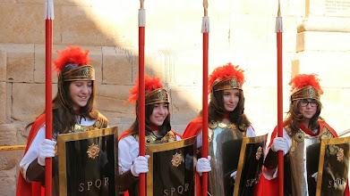 """Photo: Les """"Armades"""" del Soleràs: Judit, Carla, Clara, Núria."""