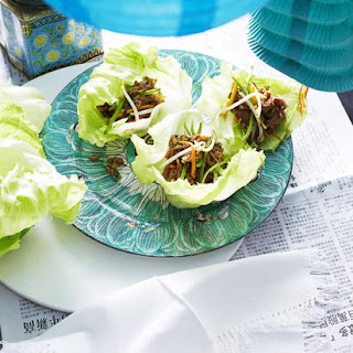 Peking Duck Lettuce Wraps.