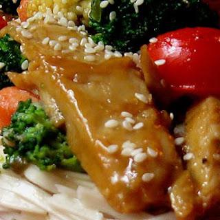 Orange Glazed Veggie Stir Fry