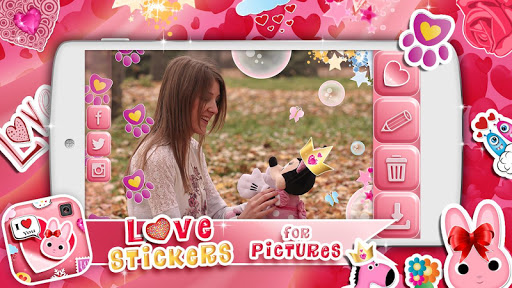 Love Stickers for Pictures