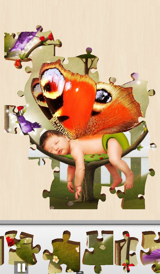 Live Jigsaw - Babies Dreamland- screenshot