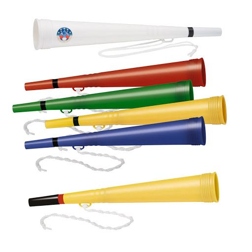 Printed Vuvuzela Stadium Horns