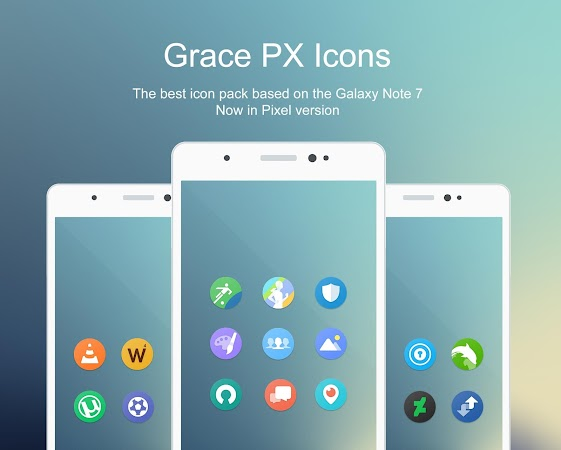 Grace Pixel UX – Icon Pack v1.9.0