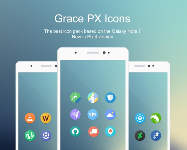 Grace Pixel UX – Icon Pack v1.6.7