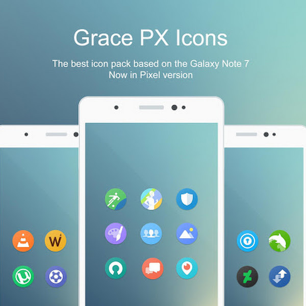Grace Pixel UX - Icon Pack v1.8.0