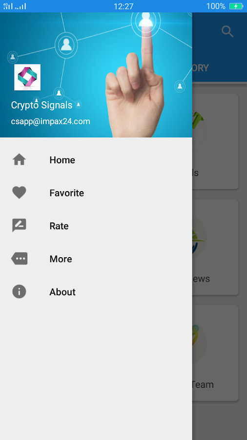 Crypto Signals- screenshot