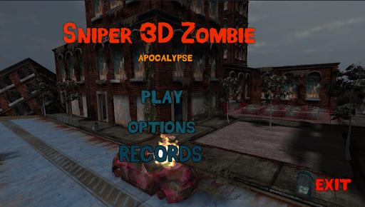 Sniper 3D vs Zoombie 1.1 screenshots 1