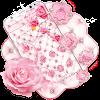 Diamond Rose Pink Theme APK