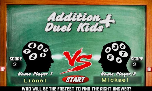 Addition Duel Kids- screenshot thumbnail