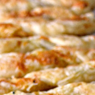 Cheese Straws with Parmesan, Gruyere, and Thyme Recipe