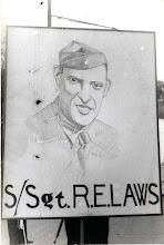 Photo: S/Sgt Robert E. Laws, World War II Congressional Medal of Honor awardee.