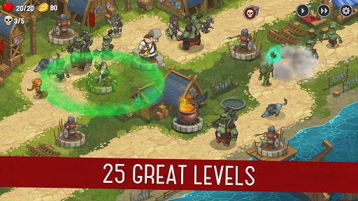 Orcs Warriors: Offline Tower Defense 1.0.13 screenshots 1