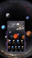 screenshot of Solar Galaxy 3D Theme