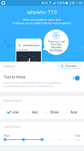 whowho TTS - Text to Voice Screenshot