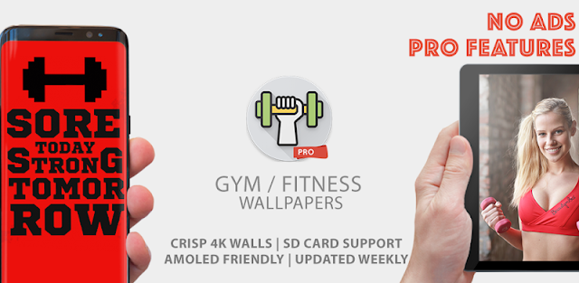 Gym 🥇 Fitness Wallpapers 4K Pro ( HD Backgrounds)