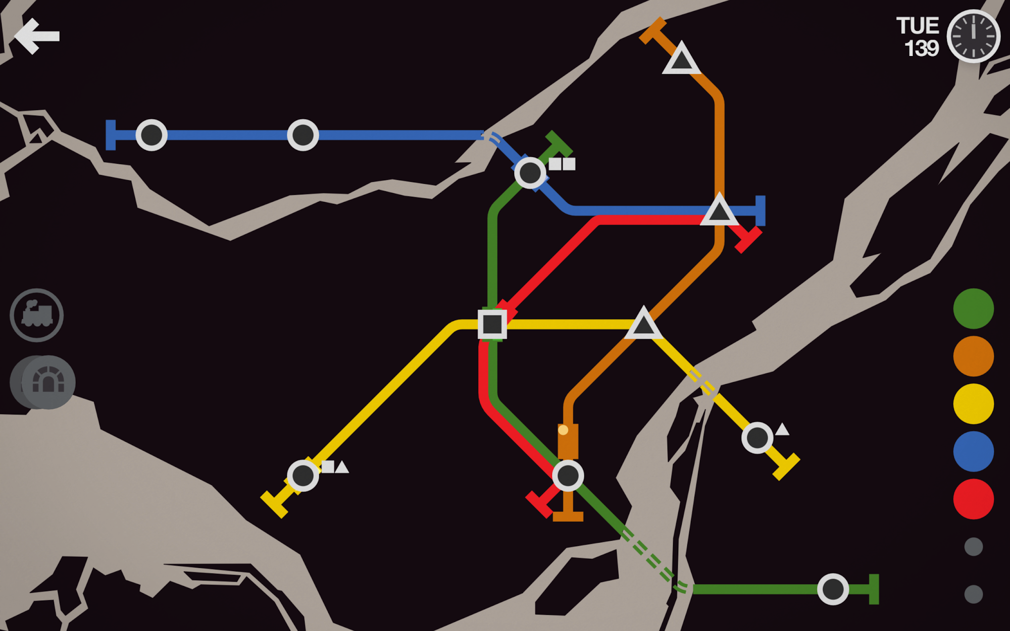 Mini Metro screenshot #15