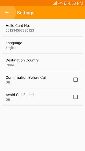 Hello Card Dialer screenshots 3