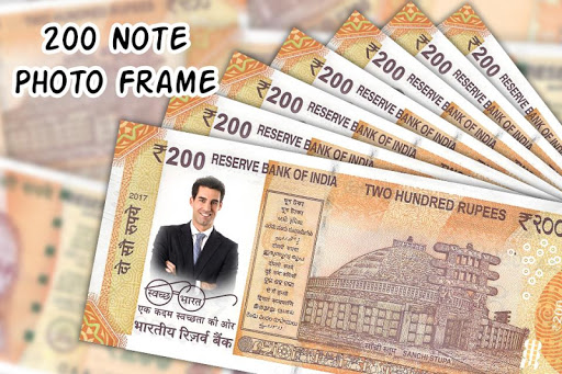 200 Note Photo Frame:New Currency NOTE Photo Frame screenshot 5