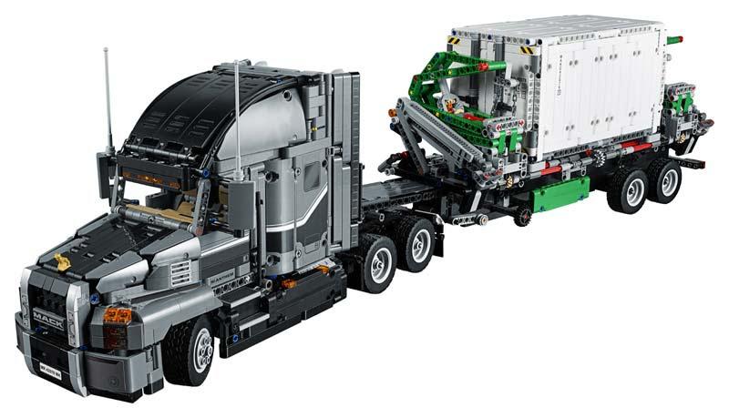 Contenido de Lego® 42078 Mack Anthem