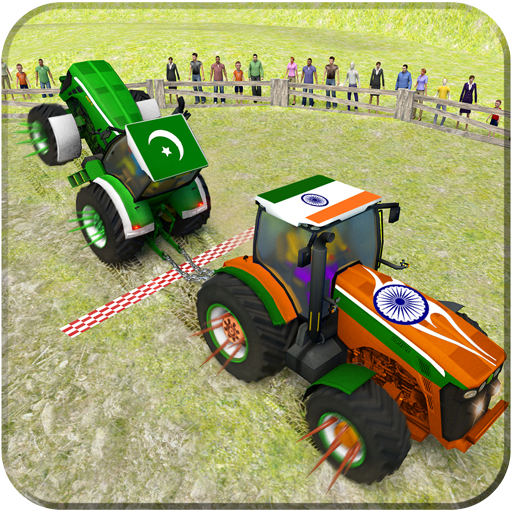 Pull Tractor Games: Tractor Driving Simulator 2018