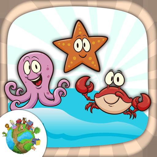 娱乐の色の海の動物 LOGO-記事Game