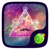 Shiny Stars GO Keyboard Theme