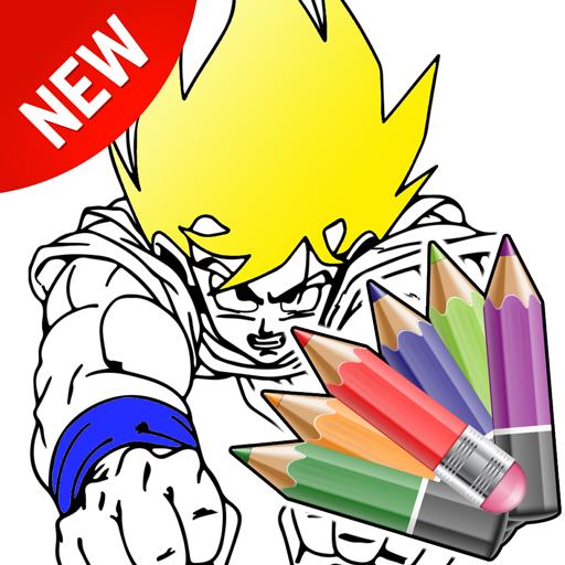 Super Saiyan Coloring DBZ