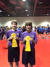 Photo: Ethan and Dane 4th place Pairs Freestyle