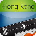 Hong Kong Airport+Flight Track