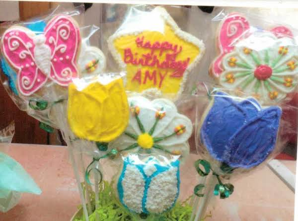 I Make These Cookies And Give Them As Gifts. Decorated With A Buttercream Frosting.