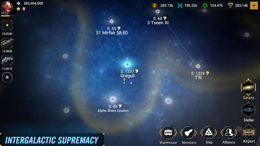 Code Triche Infinite Galaxy - Empire, starcraft, sci fi, mmo APK MOD screenshots 5