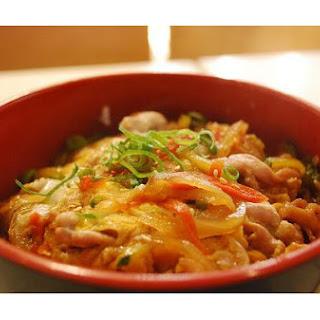 Japanese Chicken Donburi.