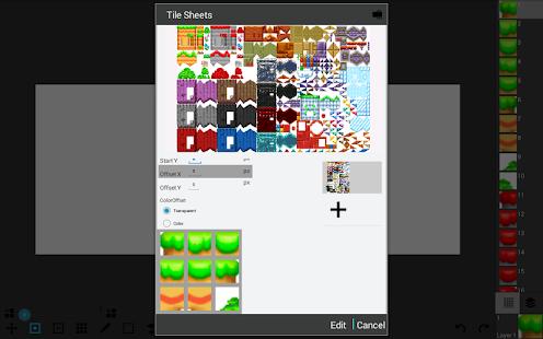 Tile Maps - náhled