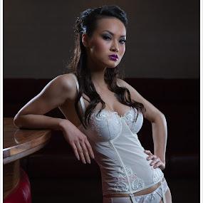 Pia by David Mccarthy - Nudes & Boudoir Boudoir ( asian model )