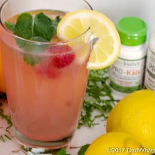 Probiotic Pink Lemonade.