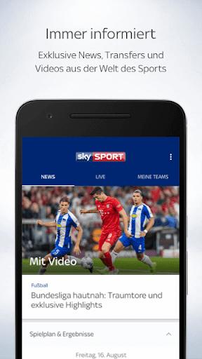 Sky Sport screenshot 1